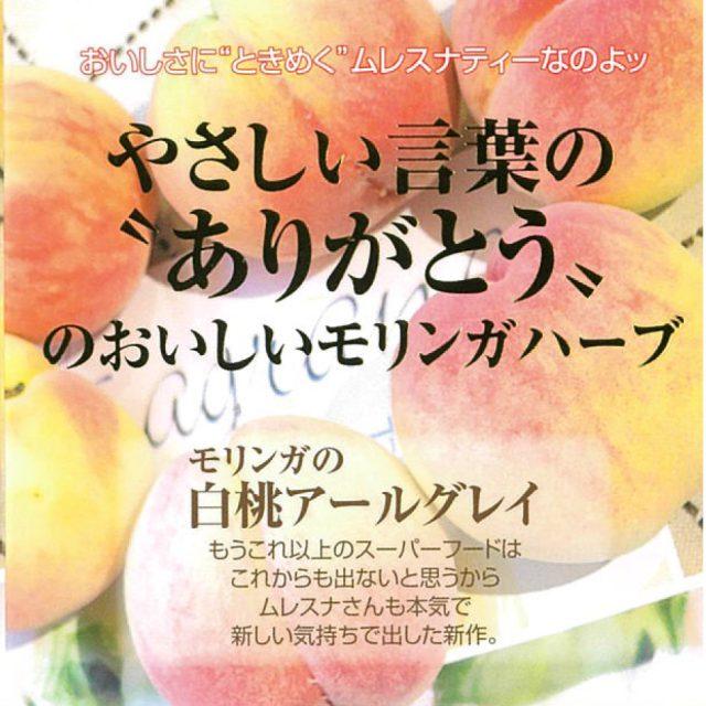 【モリンガ】白桃アールグレイ
