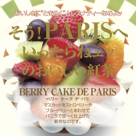 BERRY CAKE DE PARIS