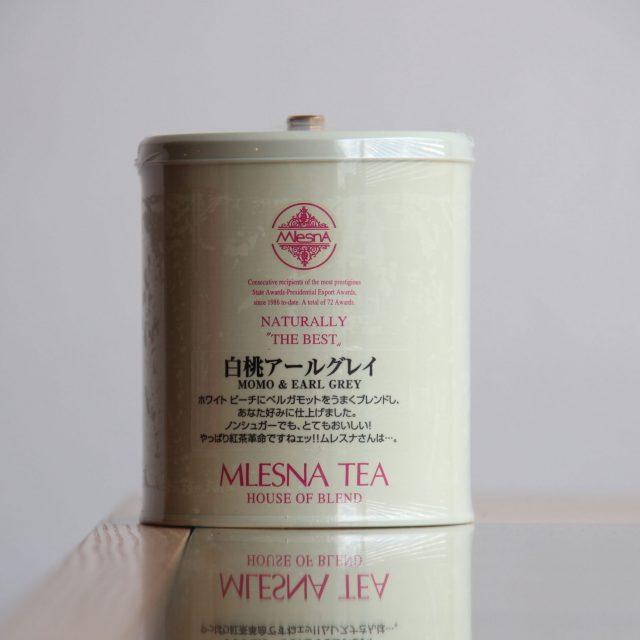 〔レトロ缶〕白桃アールグレイ