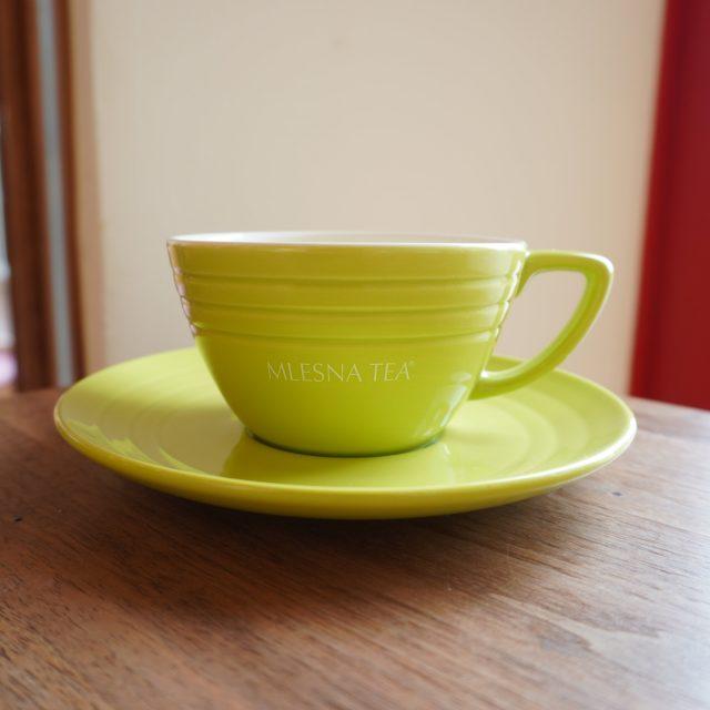 ムレスナティーyearsカップ&ソーサー(グリーン)