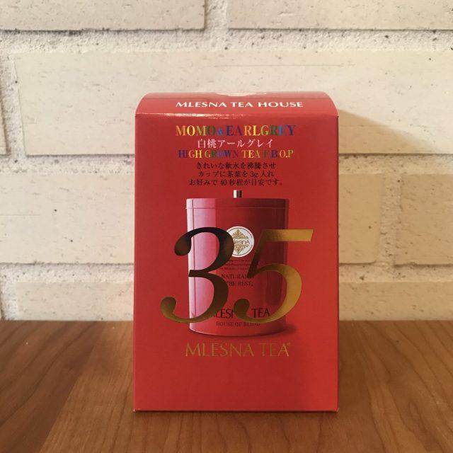 【35周年記念缶】白桃アールグレイ