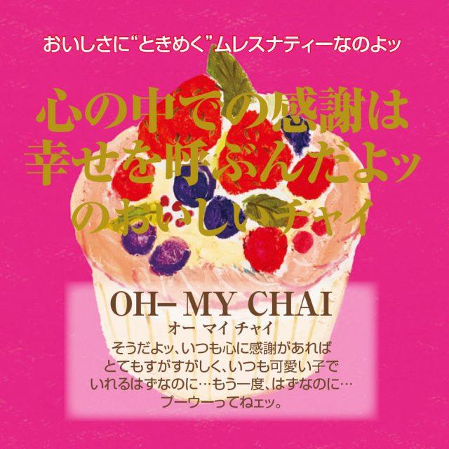 【新パッケージ】OH-MY CHAI A